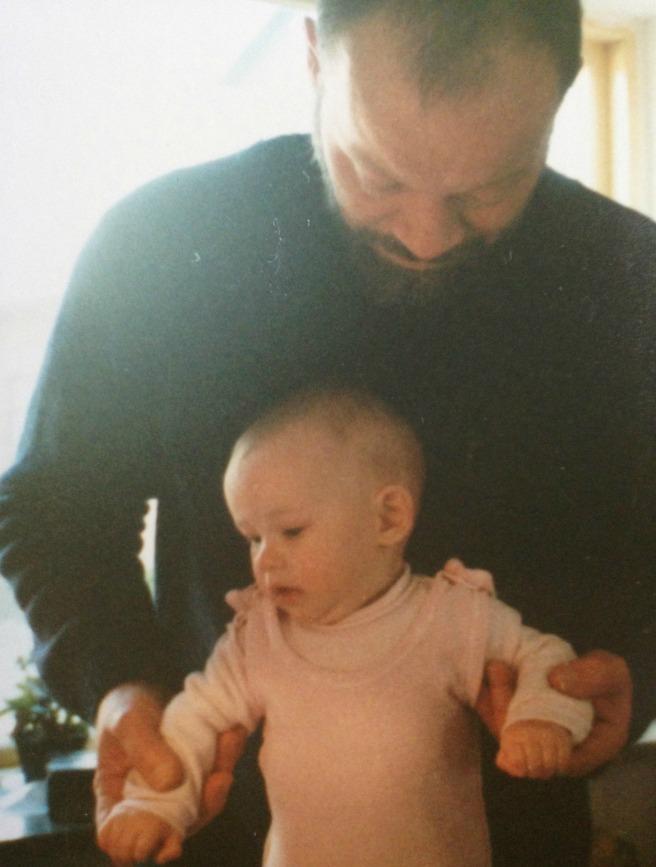 Papsen och jag som pyttis